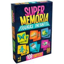 Jogo Super Memoria Figura Infantis Grow - 02646 -