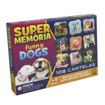 Jogo - Super Memória - Funny Dogs - Grow -