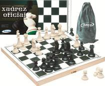 Jogo Tabuleiro De Xadrez Oficial Com Peças - 60009 Xalingo -