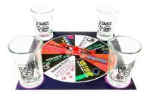 Jogo Tabuleiro Roleta Noitada Shot de Bebida Vidro 25ml Game Unika Para Adulto Amigos Diversão em Casa - Unika Games