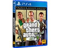 Jogo Take TWO GTA V Premium Online Edition PS4 BLU-RAY  (TT000187PS4)