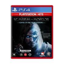 Jogo Terra-Média: Sombras de Mordor (GOTY) - PS4 - Wb Games