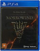 Jogo The Elder Scrolls Online: Morrowind Playstation 4 - PS4 - Bethesda
