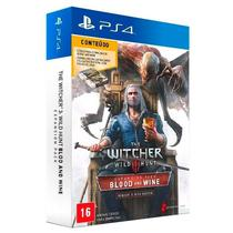 Jogo The Witcher 3: Wild Hunt: Blood and Wine (Pacote de Expansão) - PS4 - Cd projekt red