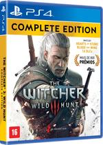 Jogo The Witcher III - Wild Hunt - Complete Edition - Ps4 - Cd projekt red
