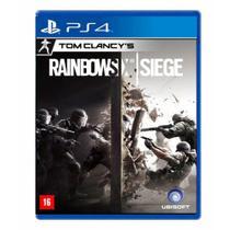 Jogo Tom Clancys: Rainbow Six Siege - PS4 - Ubisoft
