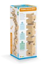 Jogo Torre Equilíbrio Em Madeira Jenga Brinquedo Educativo - Junges