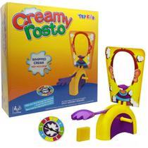 Jogo torta na cara pie face creamy rosto brinquedo familia - Makeda