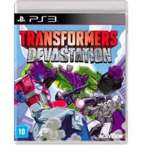 Jogo Transformers Devastation PS3 - Act