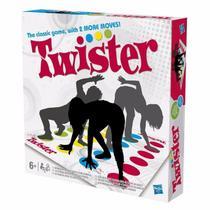 Jogo Twister Com Novos Movimentos Hasbro -