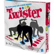 Jogo twister refresh tapete roleta hasbro clássico 98831 -