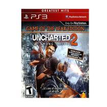 Jogo Uncharted 2 Among Thieves GOTY Edition Ps3 Hits Novo - Naughty Dog