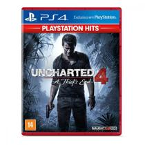 Jogo Uncharted 4 A Thiefs End Hits Playstation 4 Naughty Dog - Games