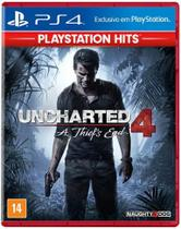 Jogo Uncharted 4: A Thiefs End Playstation Hits - PS4 - Naughty Dog