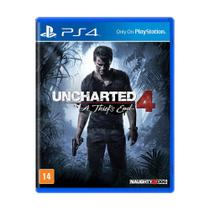Jogo Uncharted 4: A Thiefs End - PS4 - Naughty dog