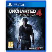 Jogo Uncharted 4: A Thiefs End - PS4 - Sony studios