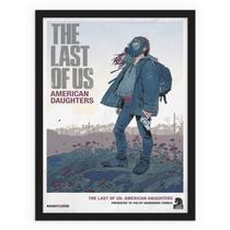 Jogo vídeo game The Last Of Us retrô vintage quadro - Conspecto