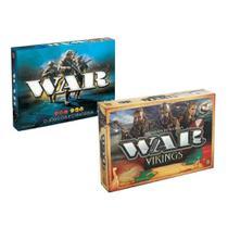 Jogo War I + Jogo War Vikings - Grow