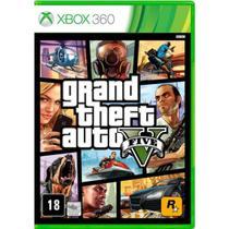 Jogo xbox 360 GTA 5 - Rockstar