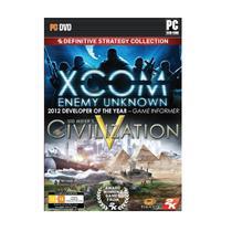 Jogo Xcom Enemy Unknown e Sid Meyer's Civilization 5 para PC - 2Ksports