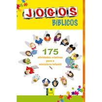 Jogos Bíblicos: 175 Atividades Criativas Infantil - Shedd Publicações