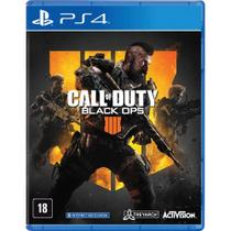 Jogos Call Of Duty Black Ops 4 PS4 - P4DA00730601FGM - Activision