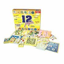 Jogos kit com 12 jogos novo mundo -