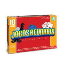 Jogos Reunidos 18 Jogos De Tabuleiros Em 1 Nig 1164 -