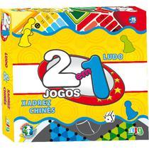 Jogos Reunidos 21 Xadrez Chines E Ludo 203 - Nig -