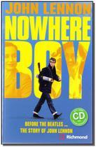John Lennon: Nowhere Boy + Cd - Richmond (Paradidaticos) - Moderna
