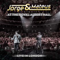 Jorge  Mateus - Live In London - At Royal Albert - CD - Som livre
