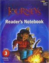 Journeys reader's notebook - volume 1 grade 3 - Houghton mifflin harcourt -