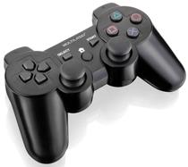 Joystick Multilaser JoyPad Dual Shock Sem Fio - Para PS2/PS3 e PC - JS072