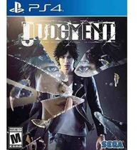 Judgment PS4 Midia Fisica -