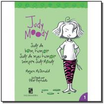 Judy moody: judy de bom humor, judy de mal humor s - Moderna - paradidatico