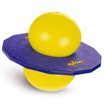 Jump Ball Pogobol Estrela 016 - Roxo/Amarelo -