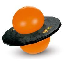 Jump Ball Pogobol Estrela 017 - Preto/Laranja -