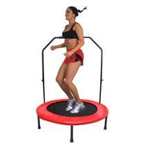 Jump Pula Pula Emagrecer Cama Elastica Academia Musculacao Suporte - Ab midia