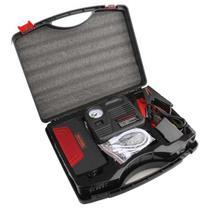 Jump Starter Carregador Bateria Auxilar Carro Moto + Compressor AR Celular Barco Jetski Powerbank - Wlxy