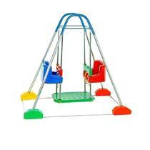 Jundbalanço Duplo com Estrutura Azul Jundplay (3110) -
