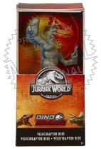Jurassic World mini figura Velociraptor blue 15 centimetros GFL99/GFM01 - Mattel -