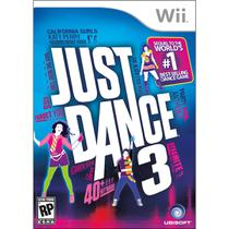 Just Dance 3 Game Jogo Para Nintendo Wii Ubisoft -