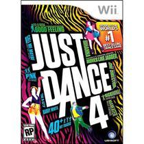 Just Dance 4 Game Em Português Para Nintendo Wii Ubisoft -