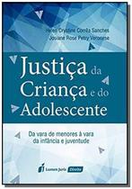 Justiça da Criança e do Adolescente: Da Vara de Menores À Vara da Infância e Juventude - Lumen -