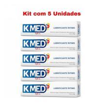 K-med Gel Lubrificante Intimo Cimed 5x50g sex shop Kmed Prazer Sexual -