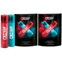 k-med gel lubrificante íntimo sensação de aquecimento e refrescância (2 frascos hot 40g + 2 ice 40g) - Cimed