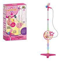 Karaokê Brinquedo Infantil Com Microfone Conecta Celular - Artbrink