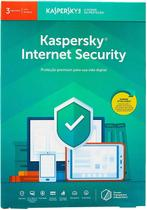 Kaspersky Anti-Virus Internet Security 2020 Para 3 Usuarios