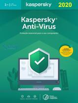 Kaspersky Antivírus 1 Dispositivo 1 ano Versão 2020 -