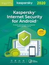 Kaspersky  Internet Security para Android 1 Dispositivo 1 ano Versão 2020